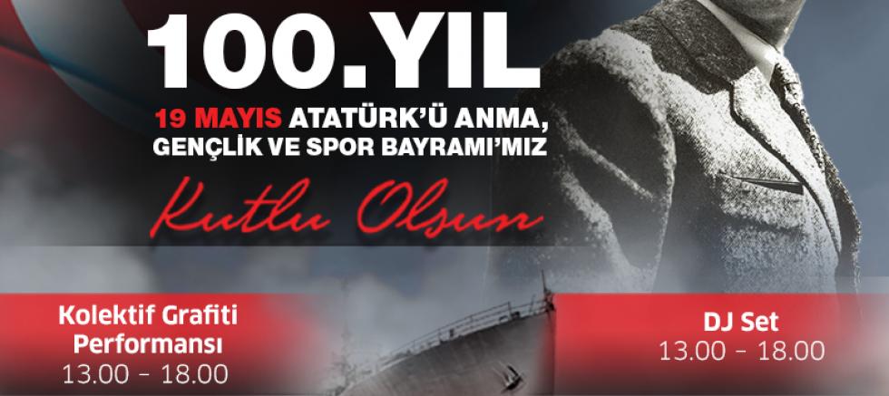 İzmir Park2ta 100. Yıl Coşkusu