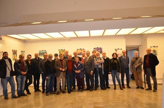 38.Uluslararası Nasreddin Hoca Karikatür Yarışması sergisi İzmir'de Açıldı..