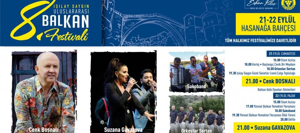 Balkan Festivali Bu Yıl Buca'nın Ablası Anısına Gerçekleşecek.