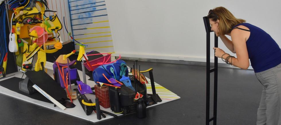 Bernard Pras'ın sergisi sanatseverlerle buluştu..