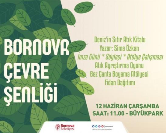 Bornova Çevre Şenliği Başlıyor