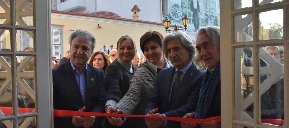 Canip Taşkıran'ın Suluboya Resim Sergisi Açıldı