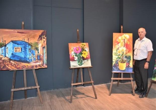 CMY Renkleri ile Resim Sergisi Açıldı