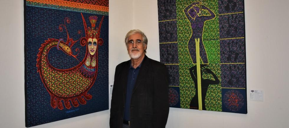 Çok yönlü bir sanatçı; Mehmet Aslan