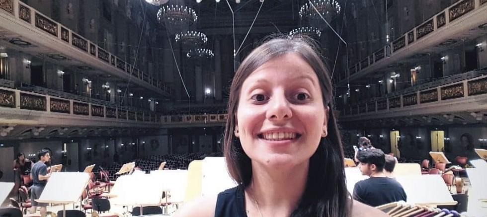 Cumhurbaşkanlığı Senfoni Orkestrasında Bir İlk Sanatçı Giz Öztaş DEÜ'nun Gururu Oldu