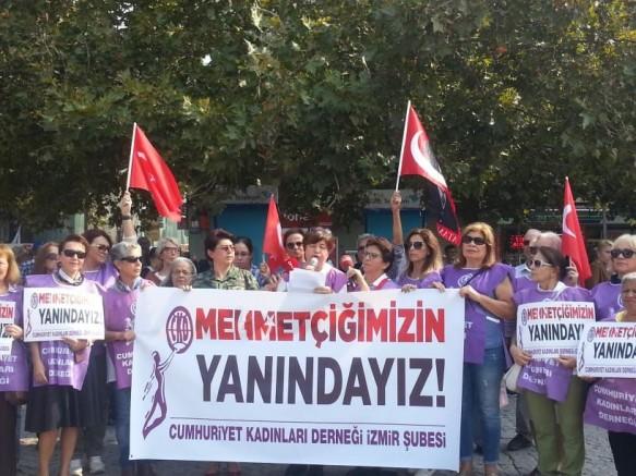 Cumhuriyet Kadınları'ndan Mehmetçiğe asker selamı