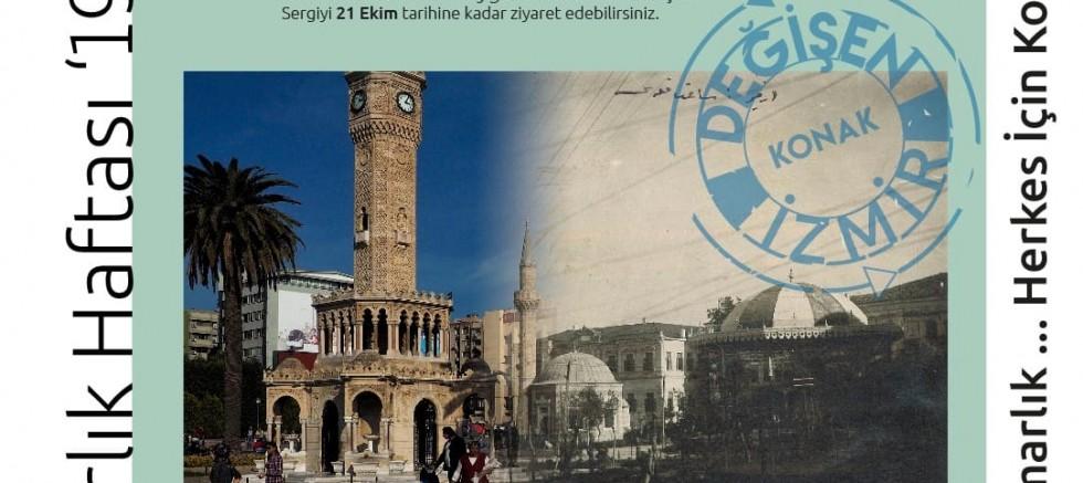 Değişen İzmir sergisi İzmir Mimarlık Merkezi'nde