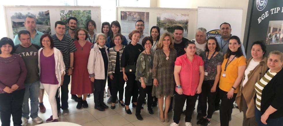 """EÜ'de """"Doğal Yaşam Fotoğrafları"""" Sergisi"""