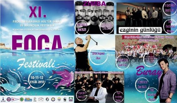 Foça Festivali Üç Gün Sürecek