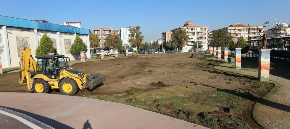 Gaziemir'in Festival Alanı yeni yüzüne kavuşuyor
