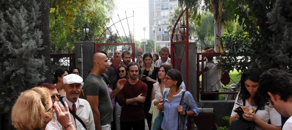 İzmir Alsancak Bölgesindeki Kiliseler Gezildi