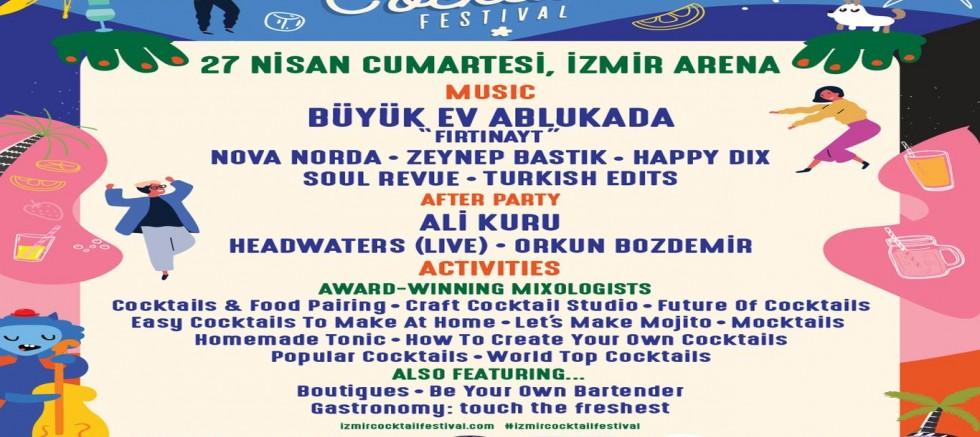İzmir'de Coctail Havası!
