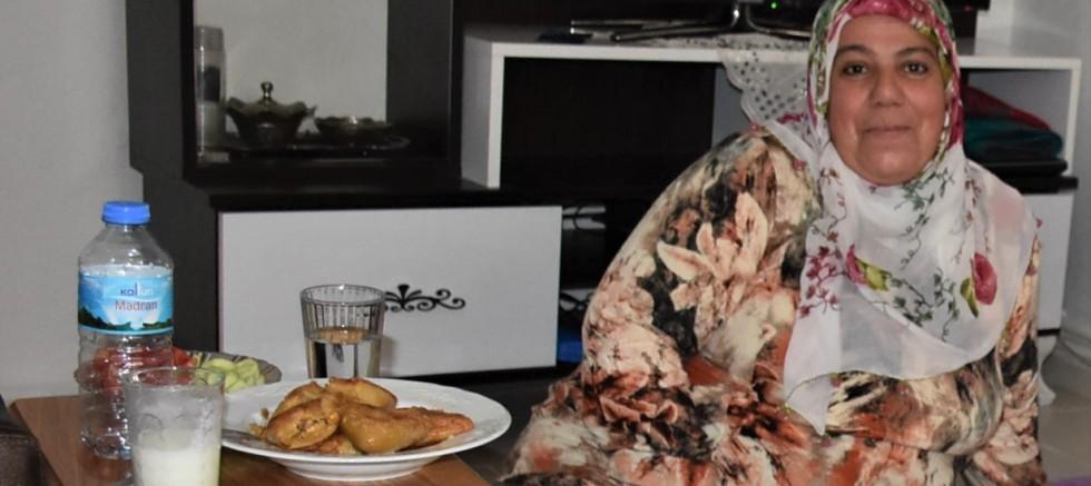 Mukaddes Karagöz: İçli köfte benim için kolay yemektir!