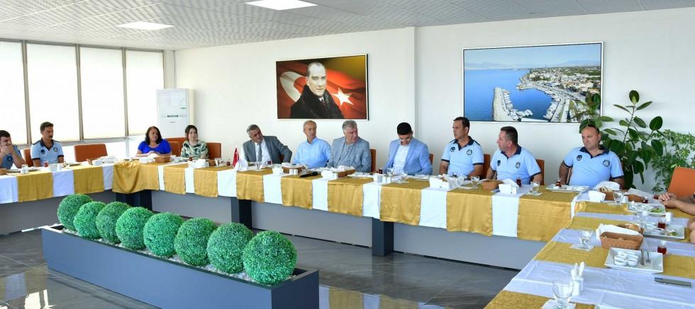 Narlıdere zabıtası 64. yılı kutladı.