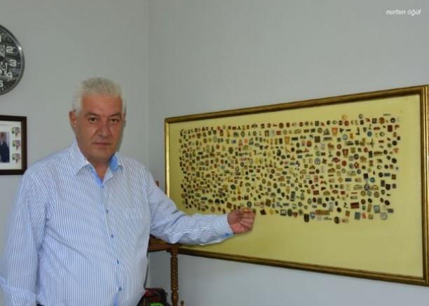 Rozet koleksiyonu merakı İEF rozetleriyle başladı