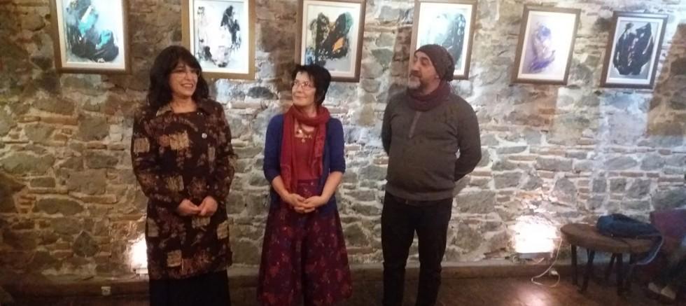 Tijen Hasçilingir kişisel resim sergisi açıldı