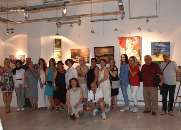 """TRED-MGSD-URD """"Yaşasın Sanat"""" İzmir sergisi"""