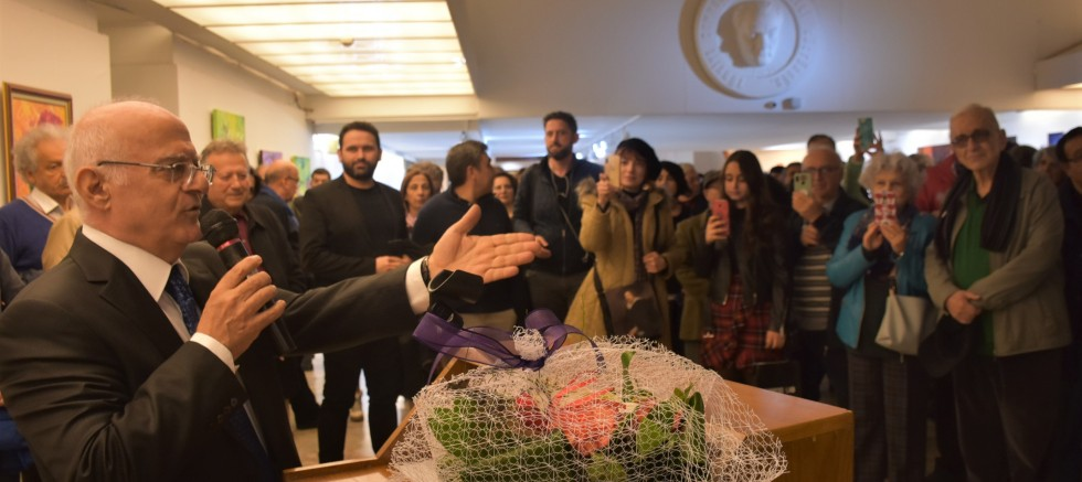 Turan Enginoğlu kişisel resim sergisi açıldı